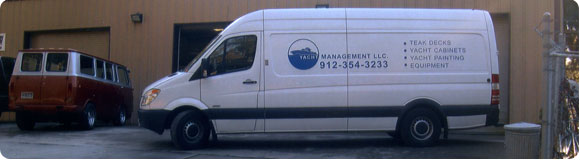 Yacht Management Work Van